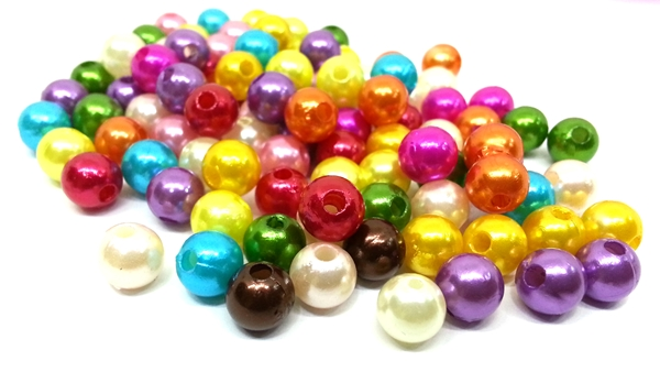 Silk Thread Beads