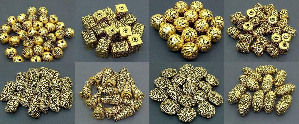 Oxidised Gold (Antique gold)