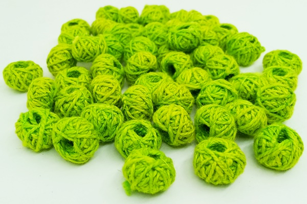 Second quality cotton thread beads