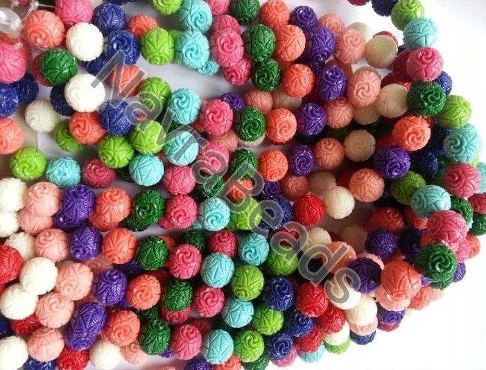 Coral Beads (Synthetic)