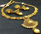 Antique/Matt Gold Necklaces